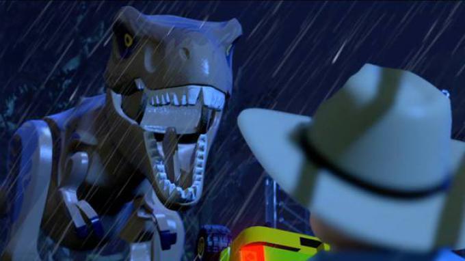 Il T-Rex di LEGO Jurassic World