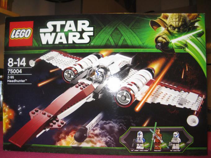 La scatola del kit LEGO® Star Wars Z-95 Headhunter