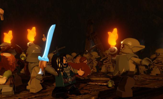 Una sequenza di LEGO Lo Hobbit