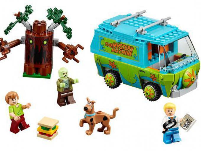 Il set LEGO Scooby Doo