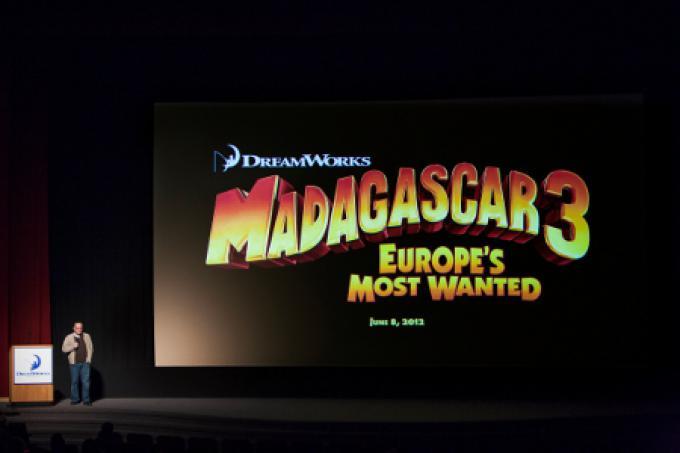 La presentazione di Madagascar 3