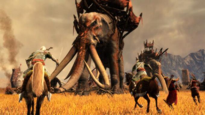 Uno screenshot del gioco Lord the Rings: Conquest