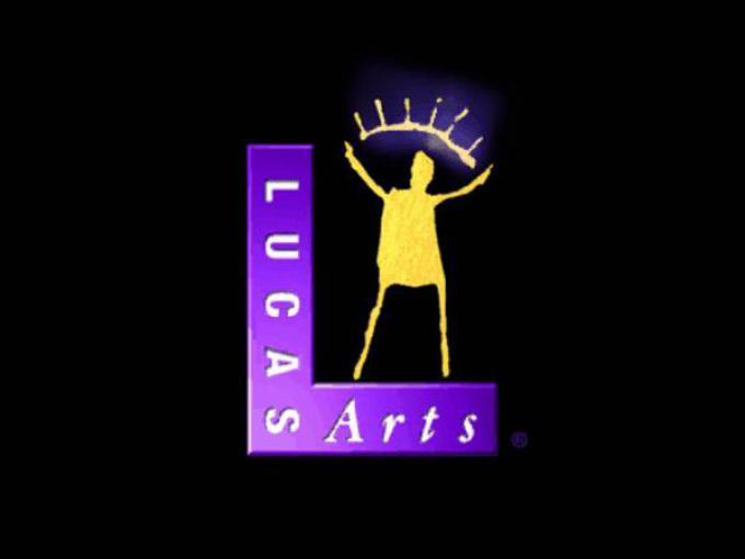 Lo storico logo della LucasArts