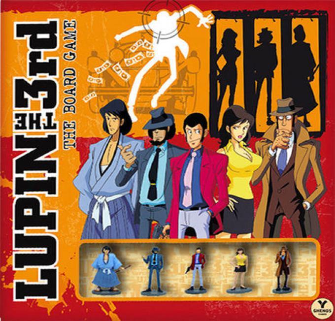 La scatola del gioco di Lupin III