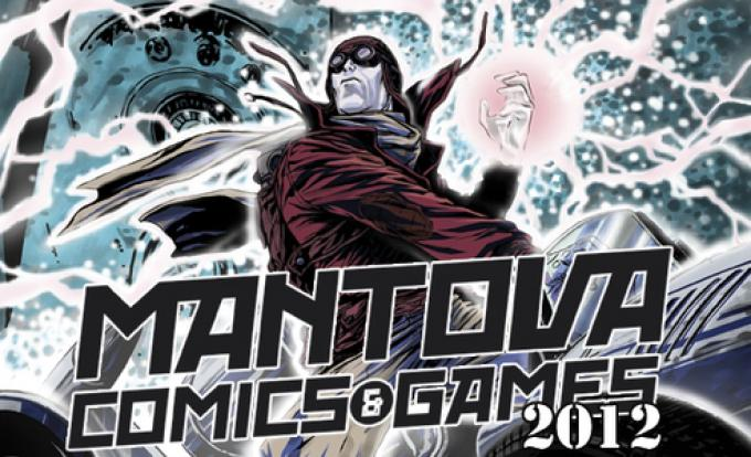 la locandina della settima edizione di Mantova Comics & Games 2012