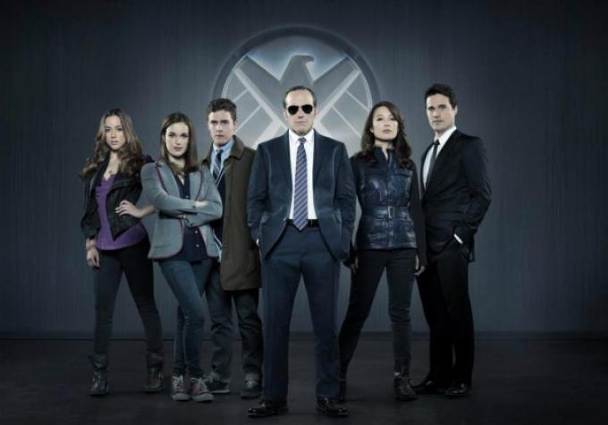 Il cast d Agents of S.H.I.E.L.D.