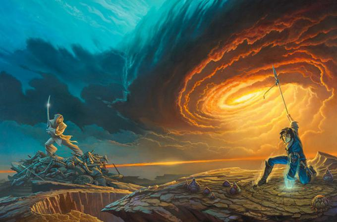 Cover di Michael Whelan per Words of Radiance