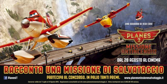 Concorso missione di salvataggio - Planes 2