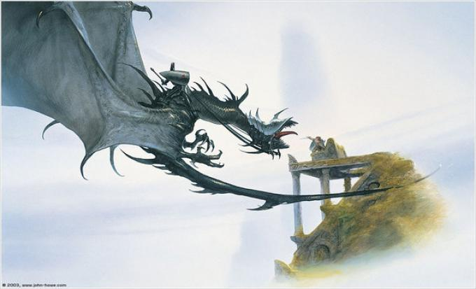 Illustrazione di John Howe