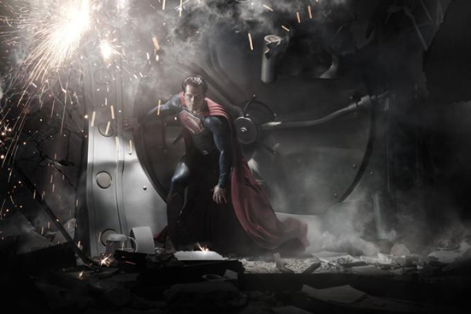 Henry Cavill nella prima foto nei panni di Superman