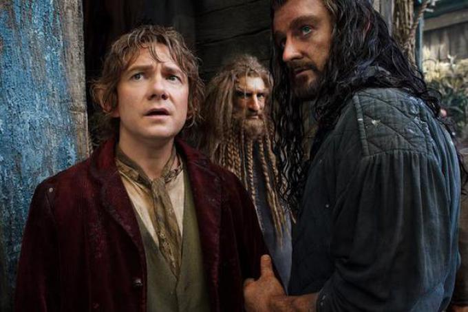 Martin Freeman e Richard Harmitage in Lo Hobbit: la desolazione di Smaug