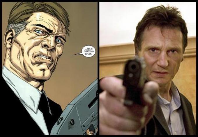 Blake Marrow vs Liam Neeson