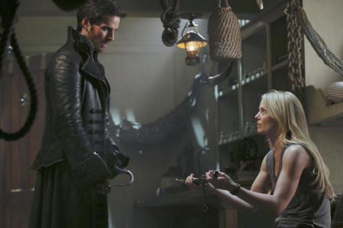 Una scena dalla terza stagione di OUAT