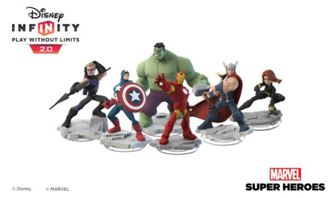 Le prime uscite di Disney Infinity 2.0: Marvel Super Heroes