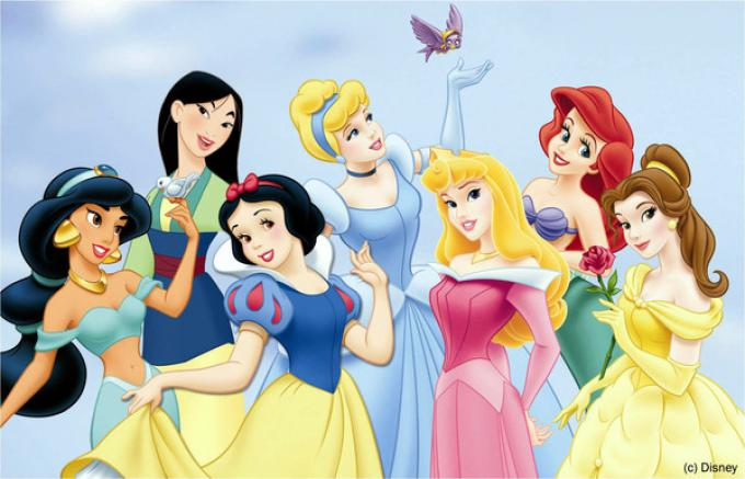 Alcune delle più amate principesse Disney