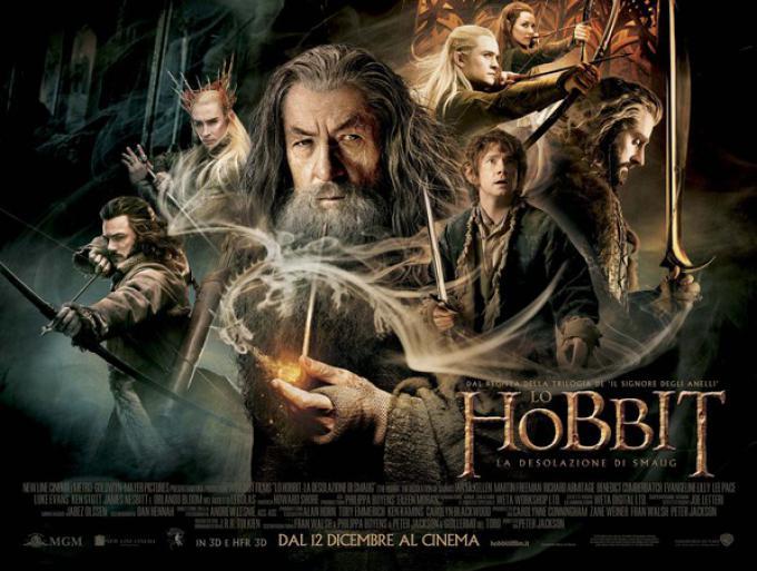 Il poster di Lo Hobbit: La Desolazione di Smaug