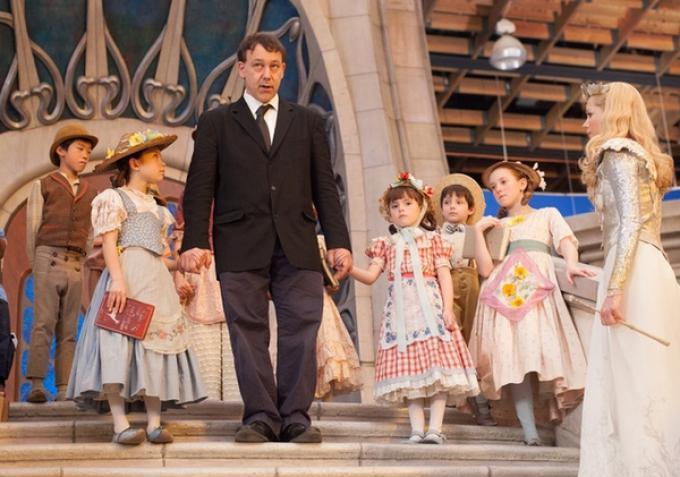 Sam Raimi sul set del Grande e potente Oz