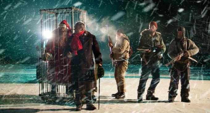 Un fotogramma di Rare Exports: A Christmas Trailer, di Jalmari Helander.