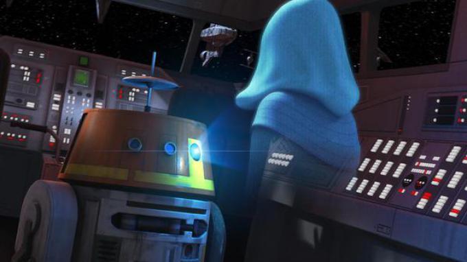 Il droide Chopper in Star Wars Rebels