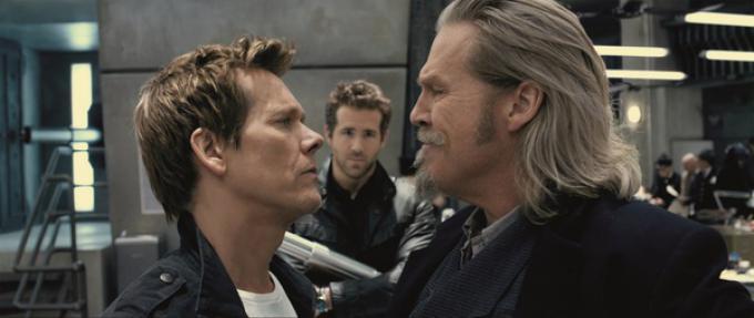Kevin Bacon, Jeff Bridges e Ryan Reynolds