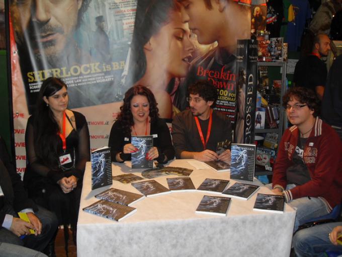 Paola Boni, Filomena Cecere e Alfonso Zarbo nel corso della presentazione
