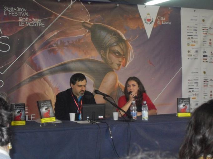 Emanuele Manco presenta Elisa S. Amore a Lucca Games