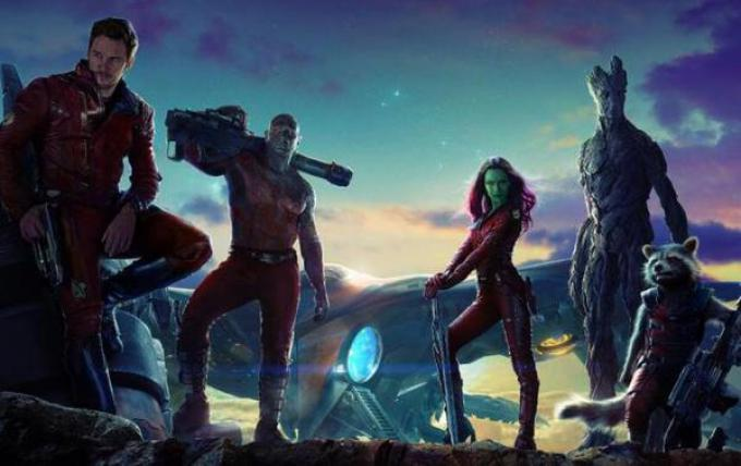Il cast di Guardians of The Galaxy