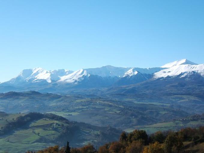 Panorama dei Monti Sibillini
