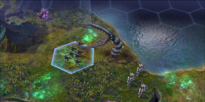 Sid Meier's Civilization: Beyond Earth - Screenshot