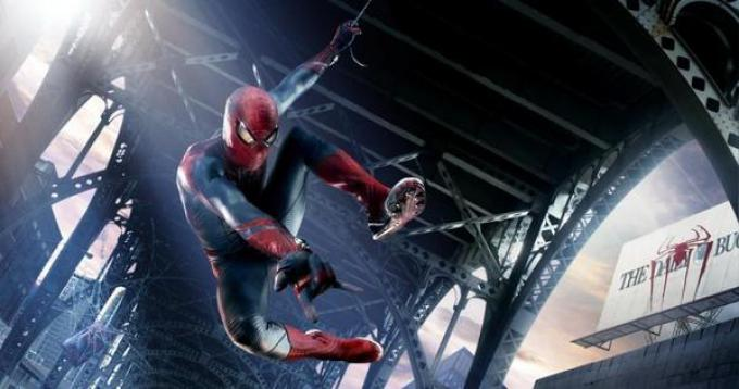 The Amazing Spider-Man in azione!