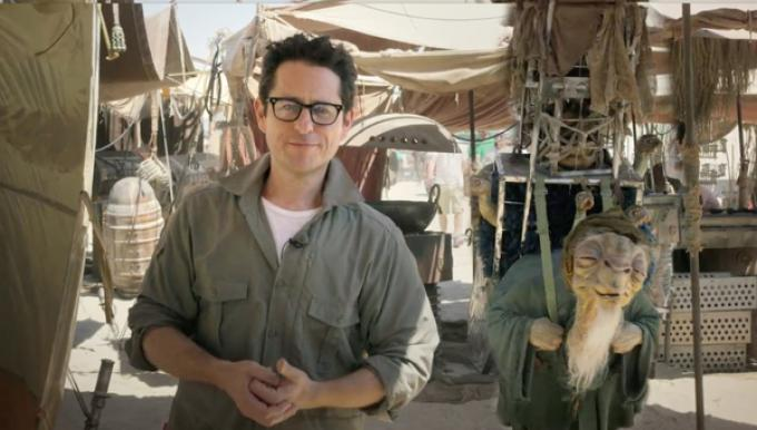 J.J. Abrams sul set di Star Wars: Episode VII