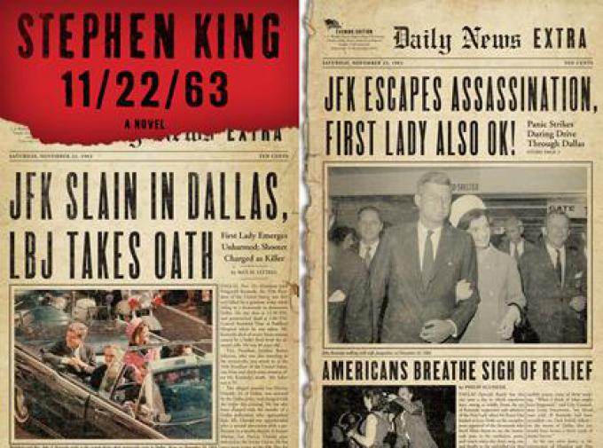 11/22/63 By Stephen King, Hardcover-First Edition 2011***Fast Shipping!