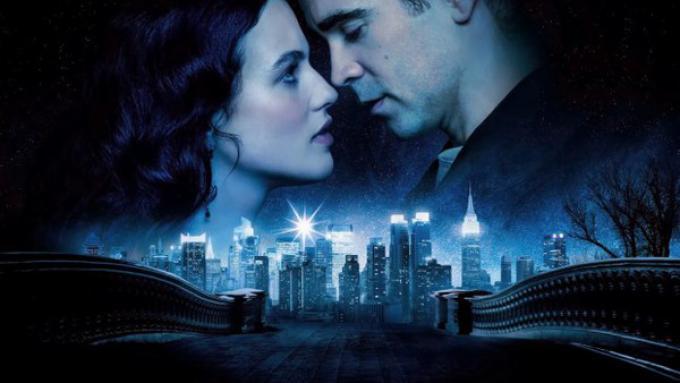 Jessica Brown Findlay e Colin Farrell in Storia d'Inverno