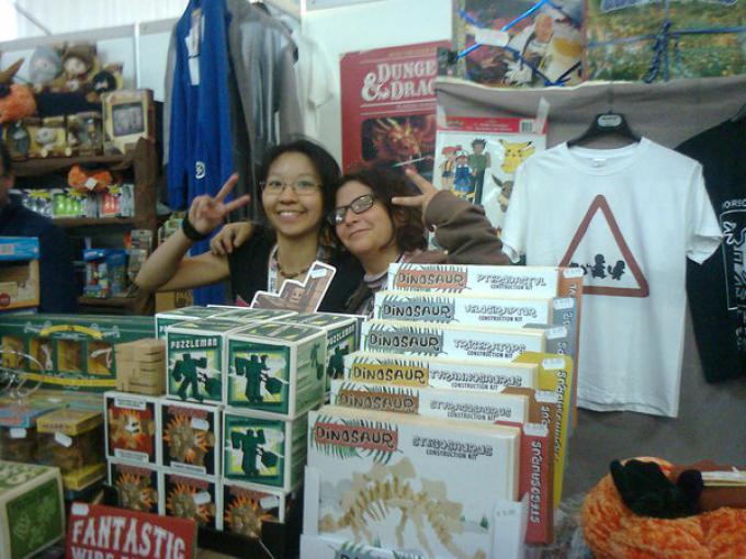 Lo stand di Stratagemma a Lucca Comics & Games 2014