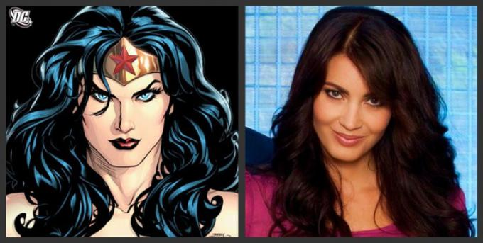 Tanit Phoenix, indicata come candidata per Wonder Woman.