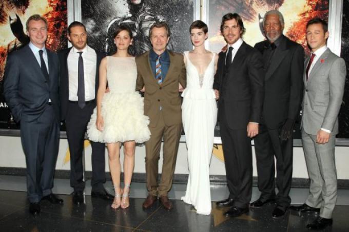 Regista e cast all'anteprima mondiale dello scorso sedici luglio a New York.