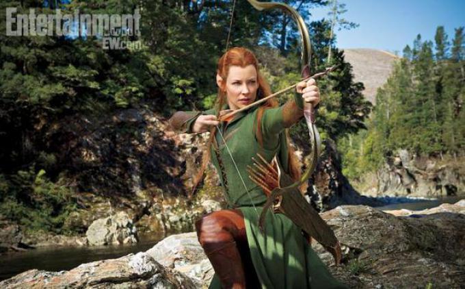 Evangeline Lilly in Lo Hobbit: La Desolazione di Smaug.
