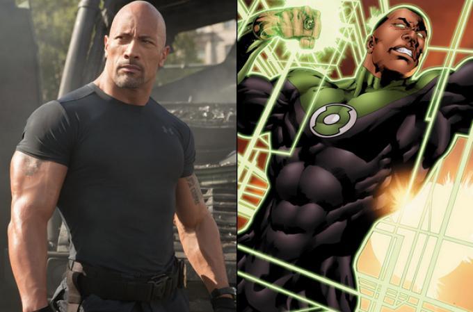 Dwayne 'The Rock' Johnson sarà la Lanterna John Stewart?