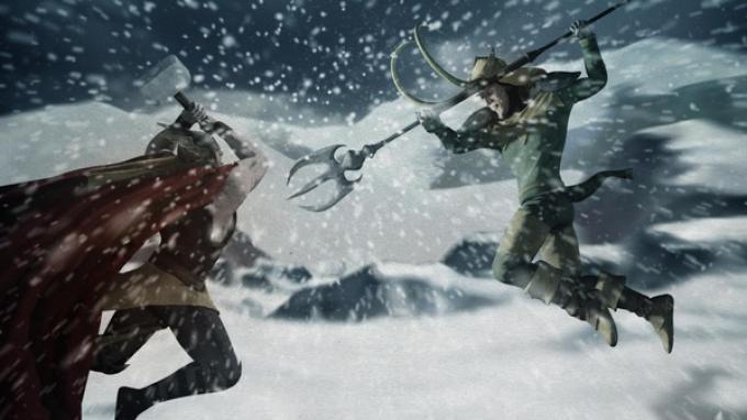 Thor e Loki: Fratelli di sangue. Disegno di Esad Ribic.