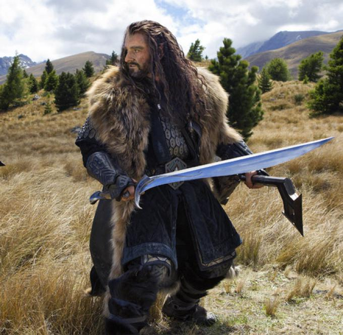 Richard Armitage è Thoren Oakenshield in Lo Hobbit