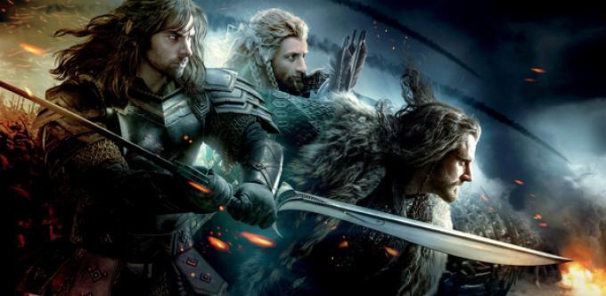 Fili, Kili e Thorin in Lo Hobbit: la battaglia delle cinque armate