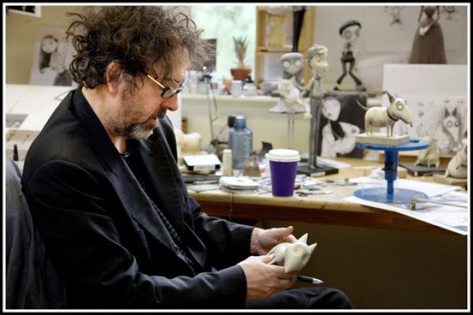 Tim Burton al lavoro su Frankweenie