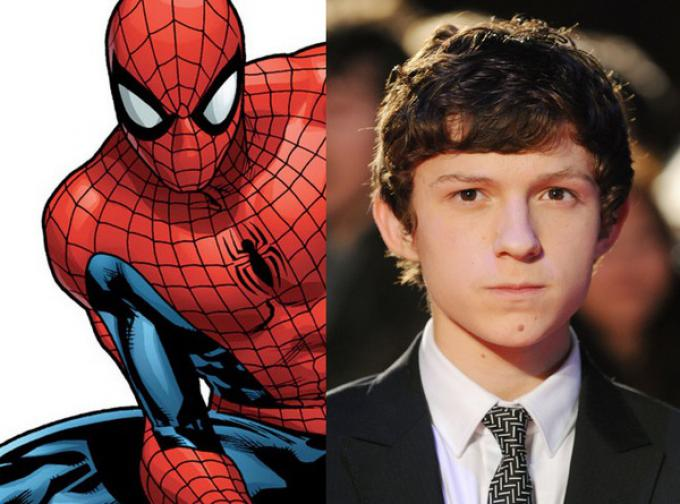 Tom Holland, il nuovo Spider-Man
