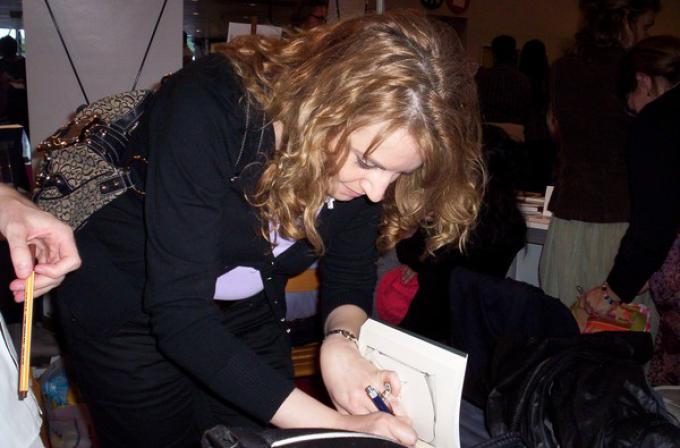Cecilia Randall (Fiera del Libro di Torino '09)