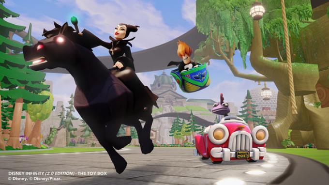 Malefica e Merida nella Toy Box di Disney Infinity 2.0