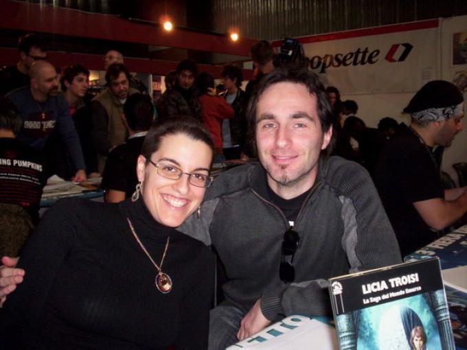 Licia Troisi e Paolo Barbieri