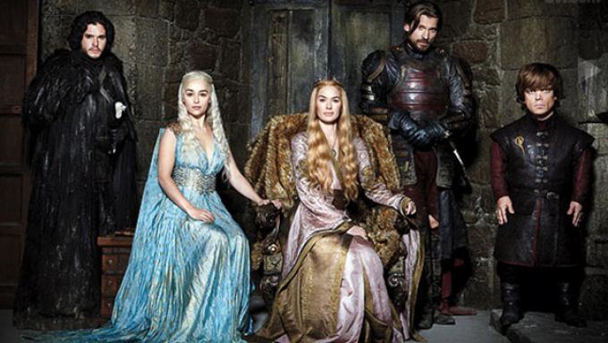 Il cast di Game of Thrones