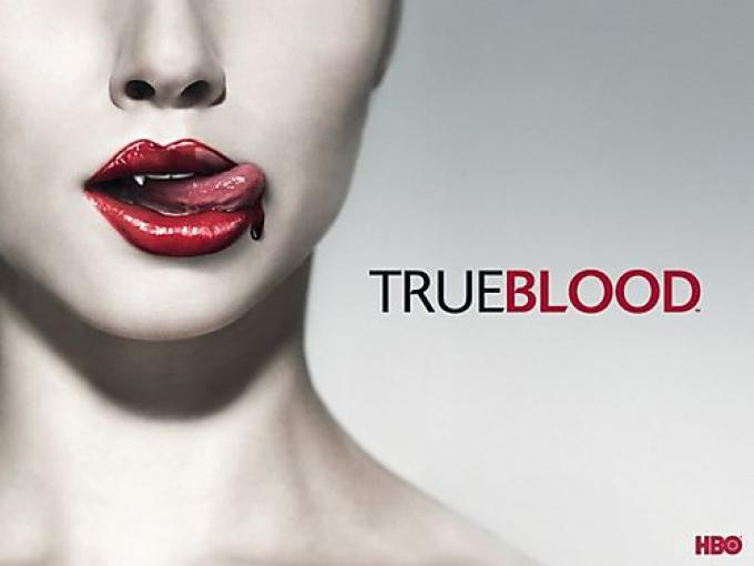 Il logo di True Blood