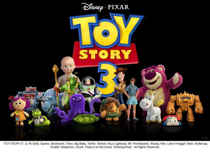Il cast di Toy Story 3, al gran completo!