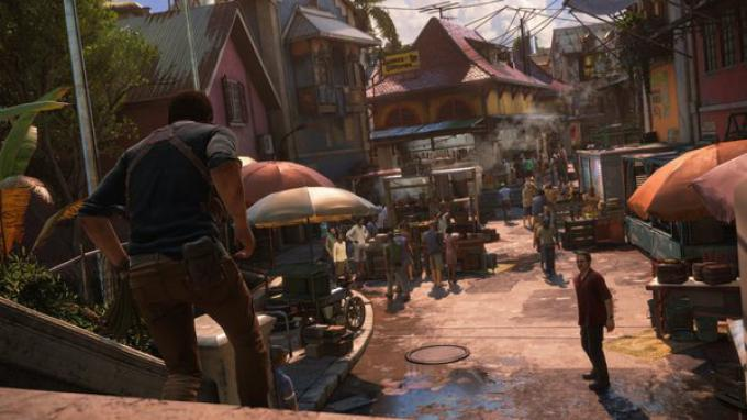 Sequenza del gameplay di Uncharted 4
